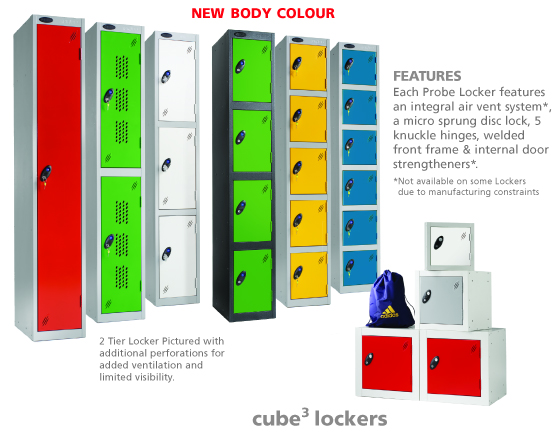 Metal Lockers for Healthcare Industry