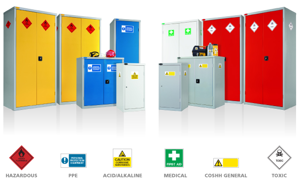 Cabinets Medical Cabinets General Cabinets Probe Lockers - Hazardous cabinets